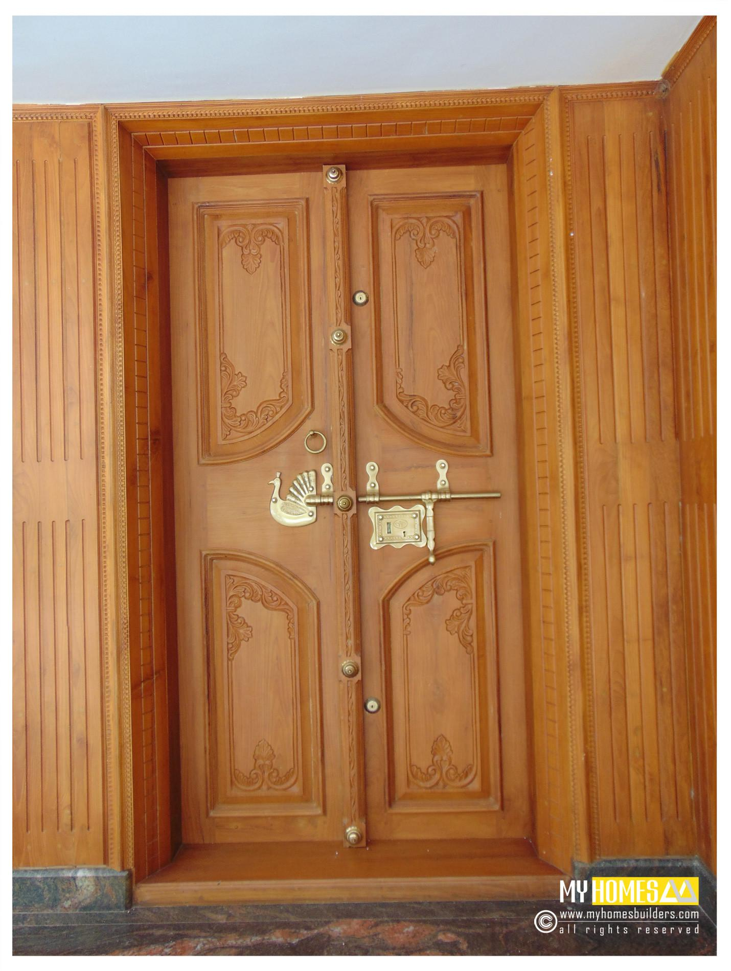 New Idea Homes Main Door Designs Kerala India