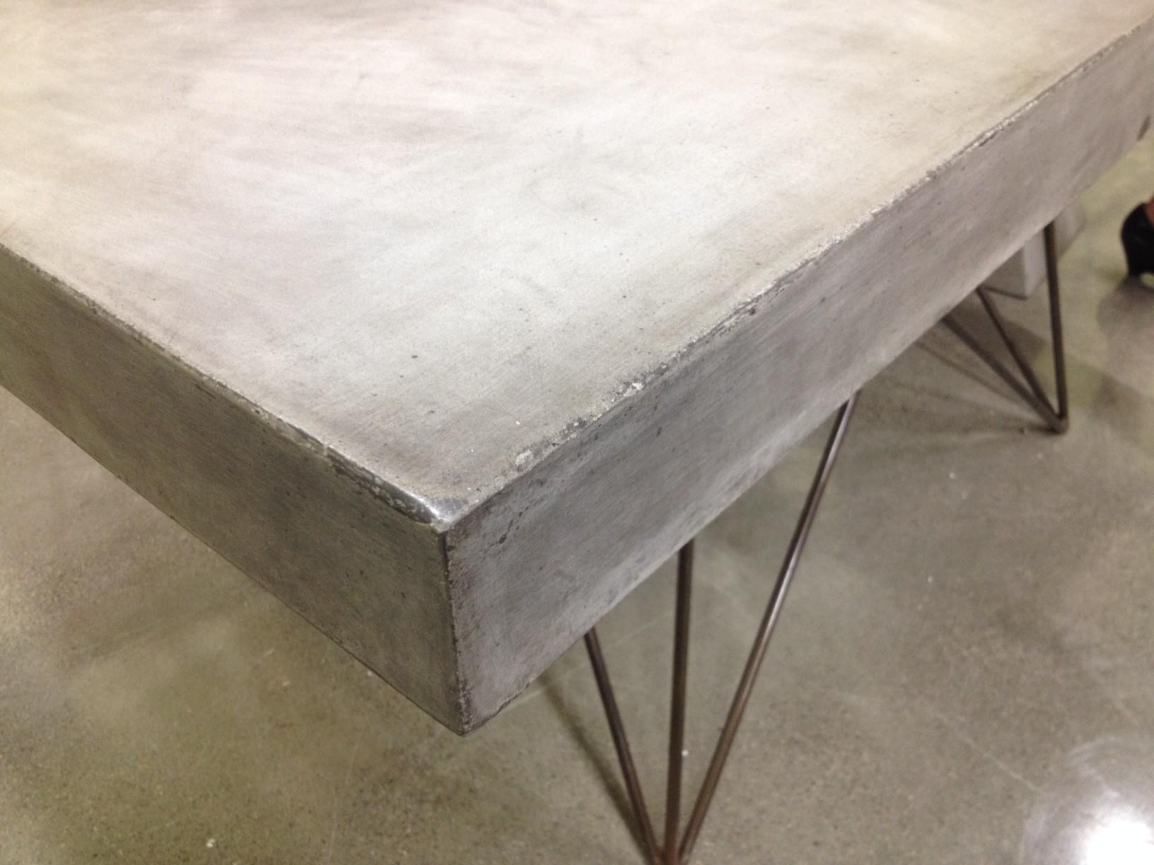 New Ideas Concrete Table Top Matt Jentry Home Design