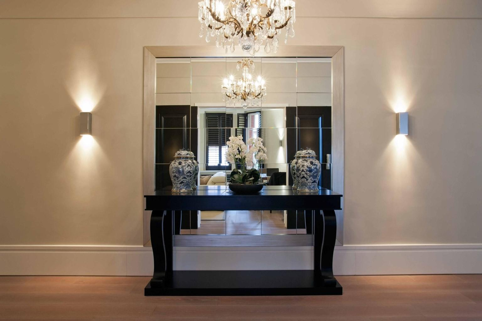New Ideas Entrance Hall Console Tables Mirrored