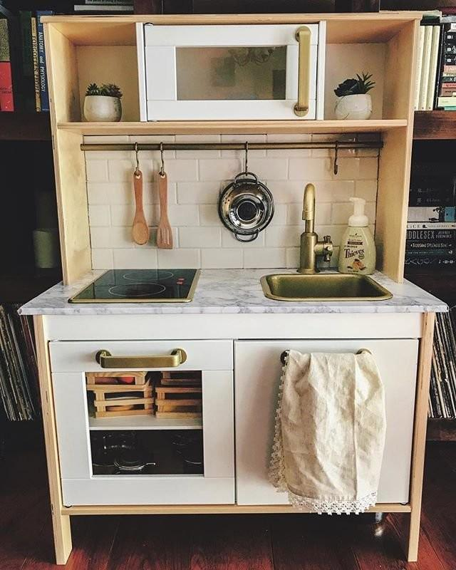 New Improved Play Kitchens Kitchen Hack