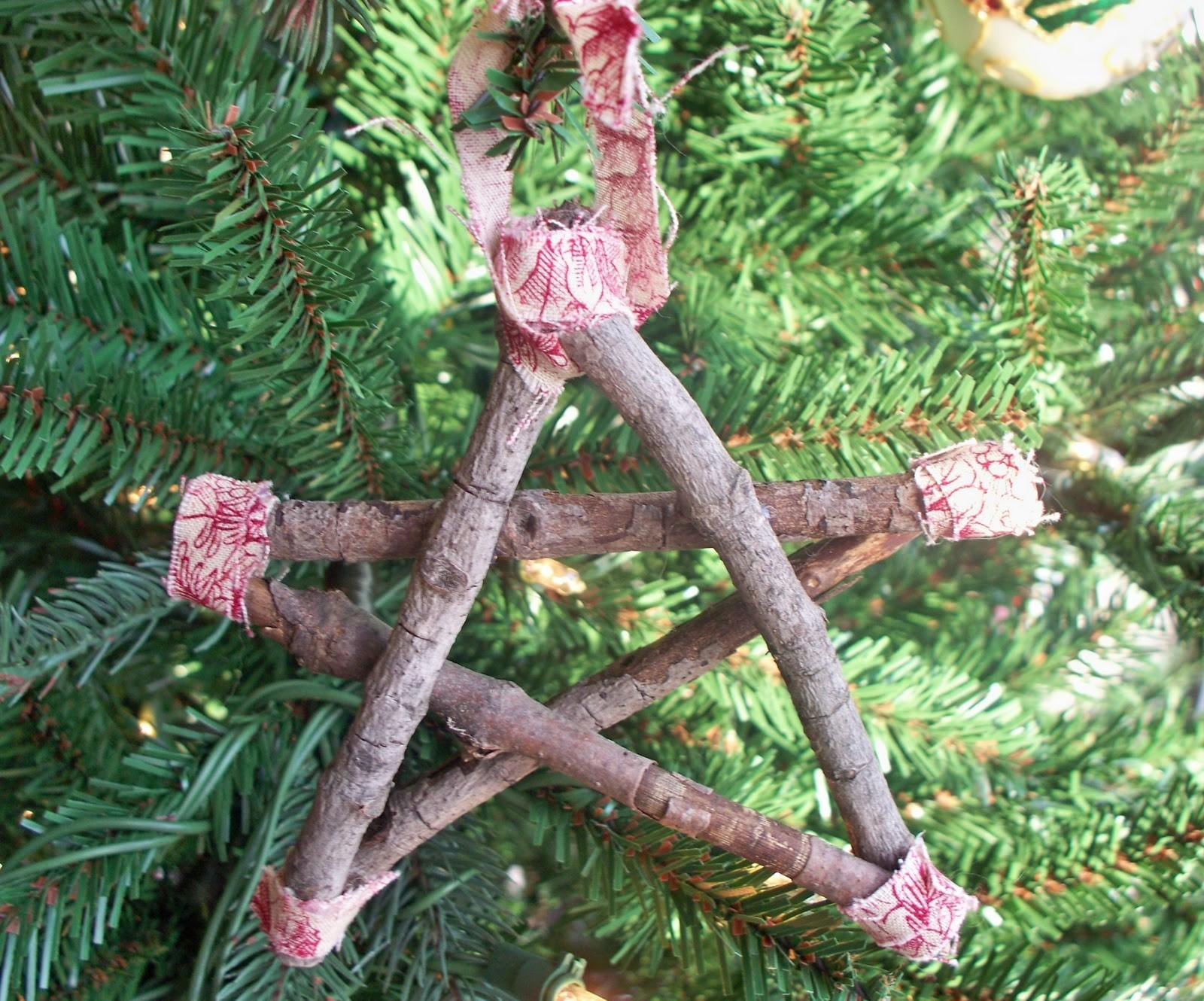 New Leaf Crafty Christmas Twig Star Ornaments
