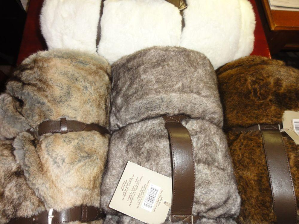 New Luxurious Soft Faux Fur Oversize Throw Your