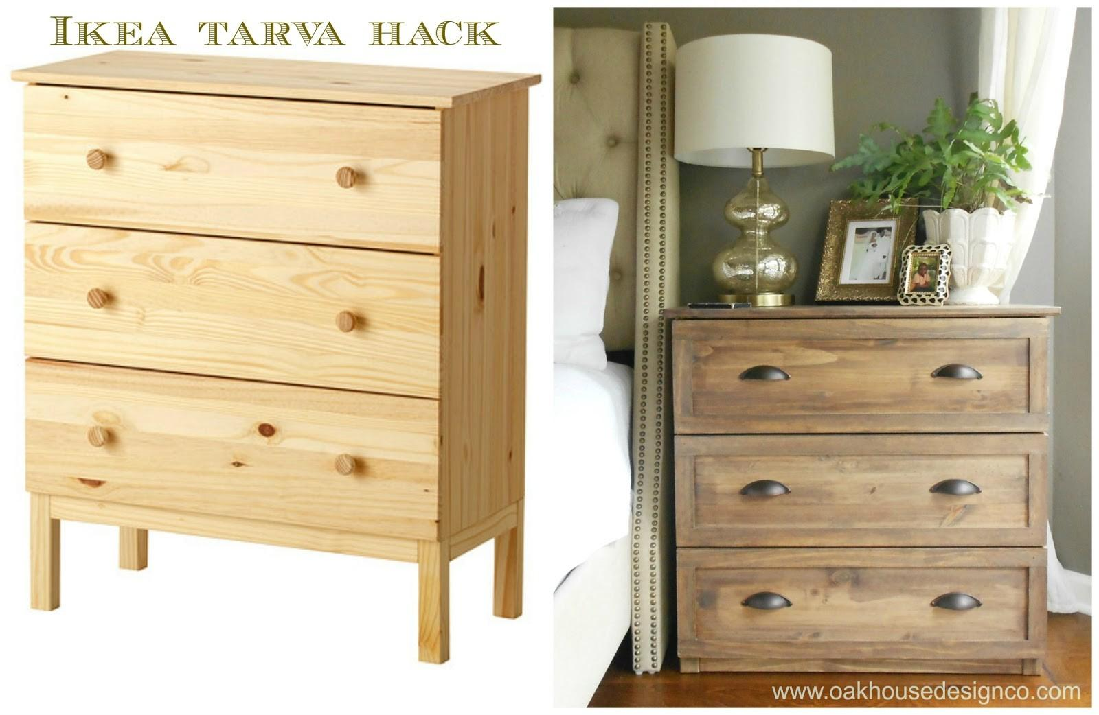 New Nightstands Tarva Hack Oak House Design
