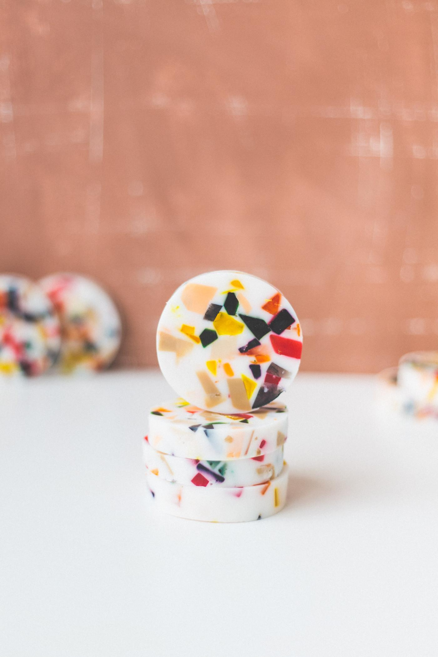 New Obsession Diy Terrazzo Style Slice Soaps Fall