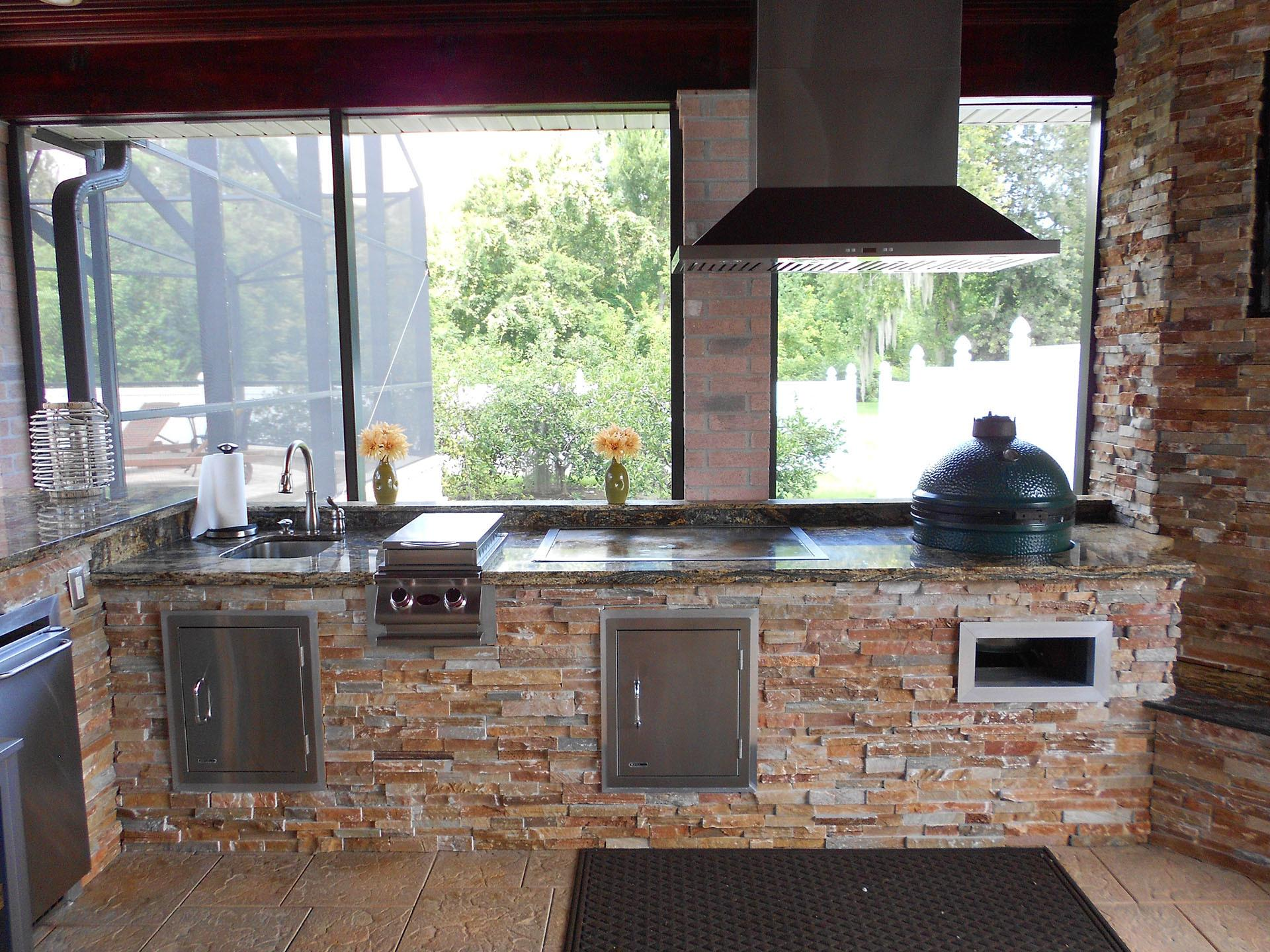 New Orleans Outdoor Kitchens Contractor Custom
