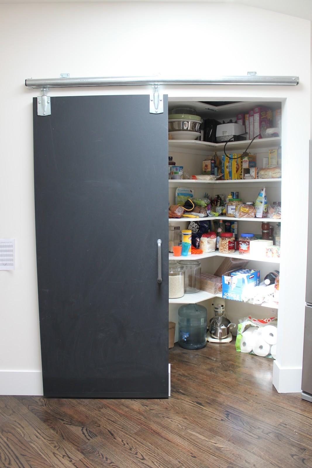 New Pantry Door Installed
