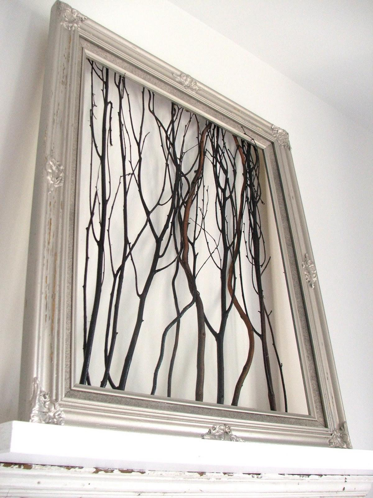 New Romanticism Framed Easy Decorating Ideas Using