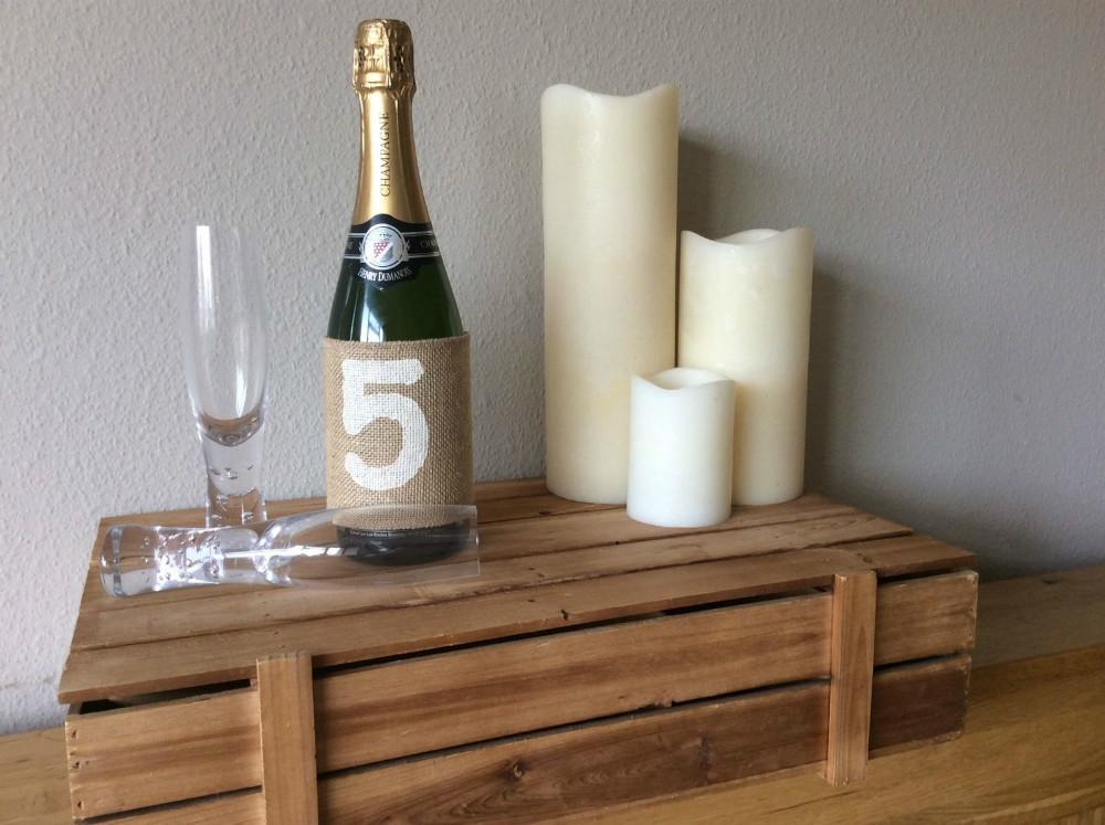 New Rustic Wedding Party Table Numbers1 Vintage Hessian