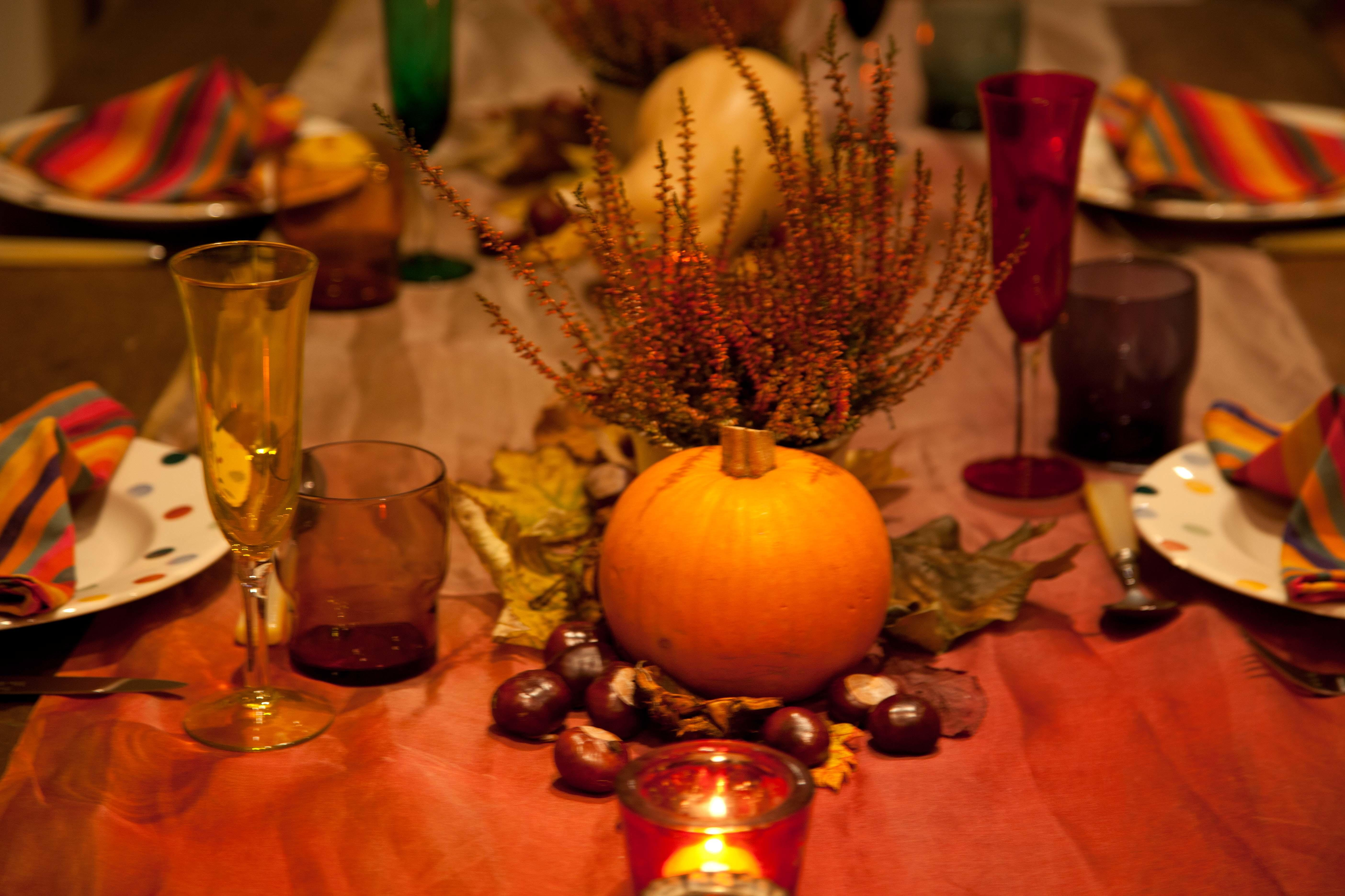 New Table Decoration Ideas Autumn Light Dining Room