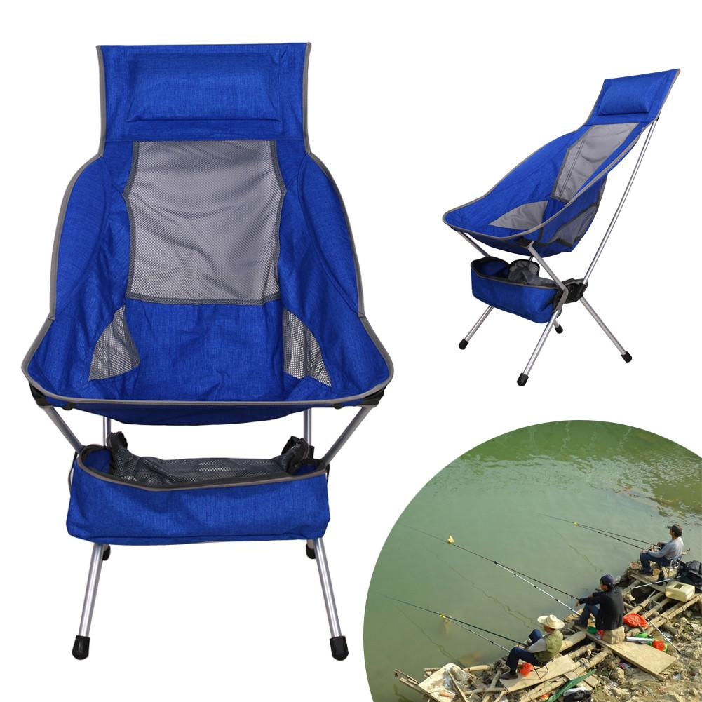 New Upgrade Portable Fishing Chair Seat Lightweight