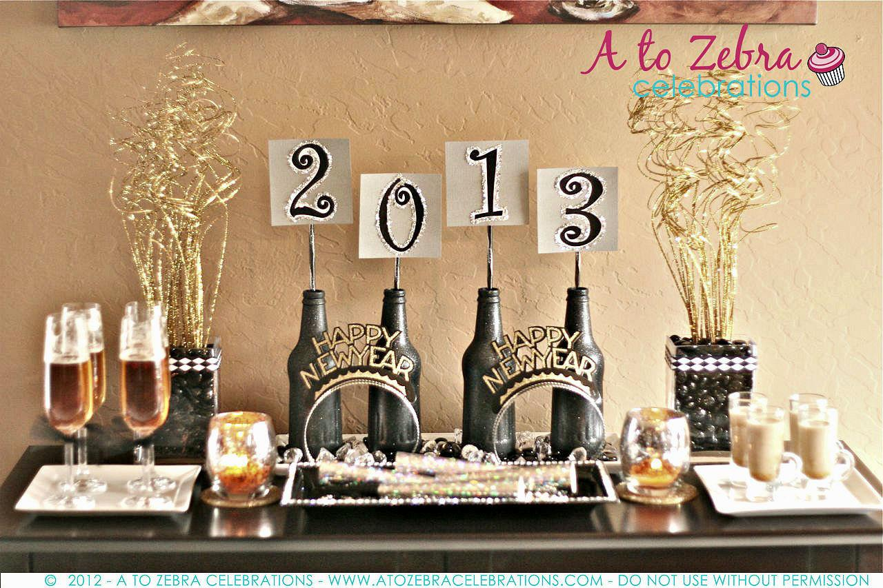 New Year Party Decorating Ideas