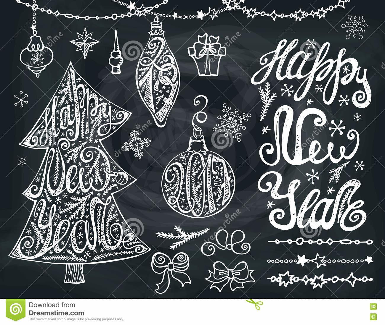 New Year2017 Christmas Tree Bals Lettering Decor