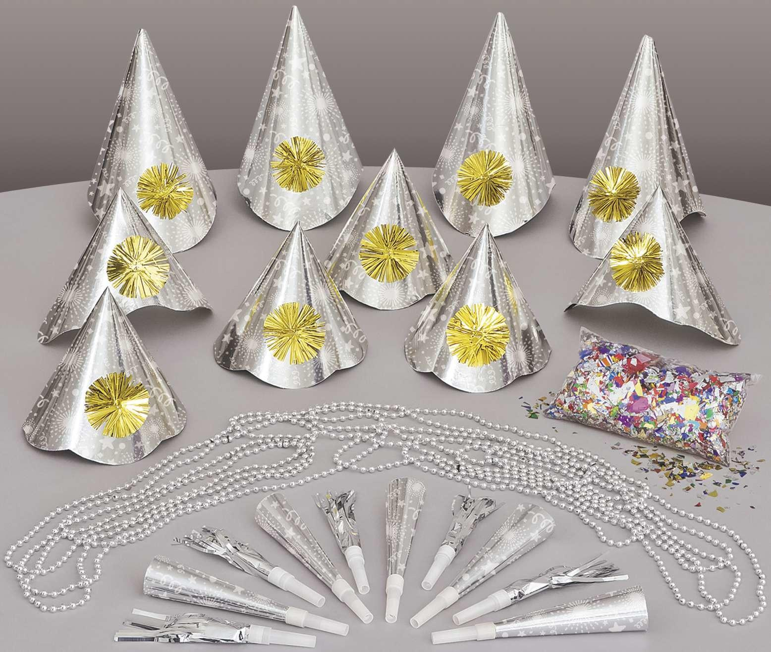 New Years Eve Complete Party Kit Supplies