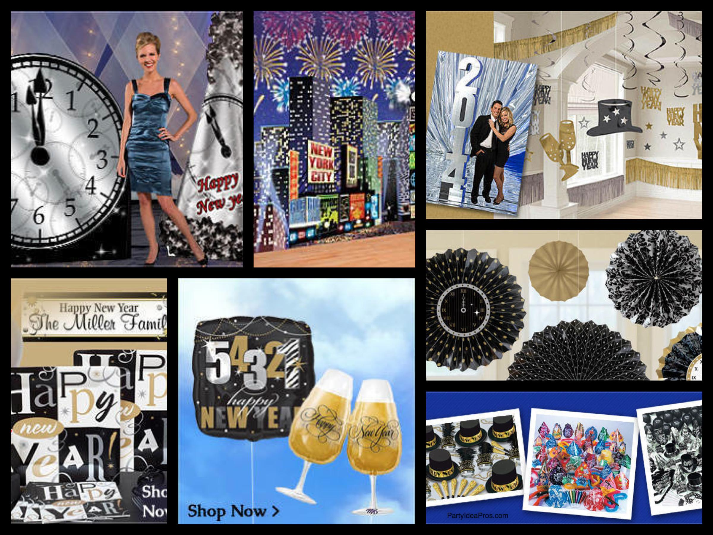 New Years Eve Decorations Party Supplies Partyideapros