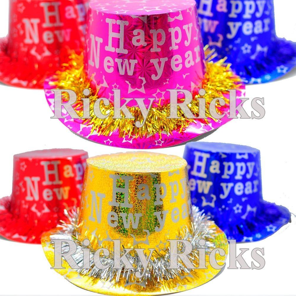 New Years Hats Party Supplies Decorations Decor Happy