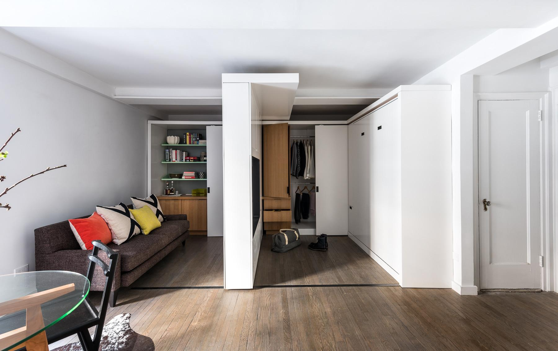 Next Level Compact Wonen Met Verschuifbare Muren Roomed