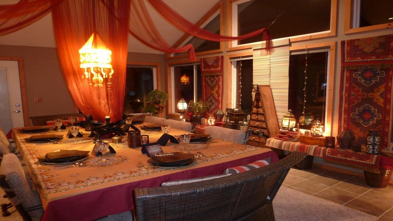 Nice Dining Room Tables Moroccan Style