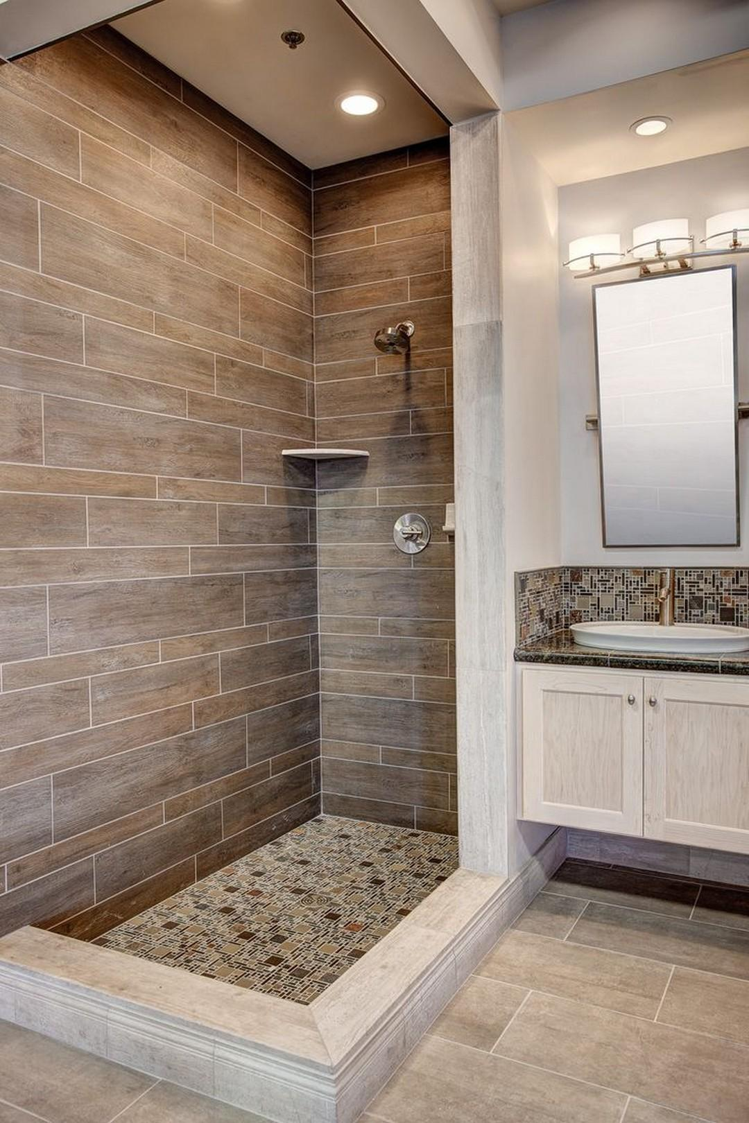 Nice New Trends Bathroom Tile Design Inspiration