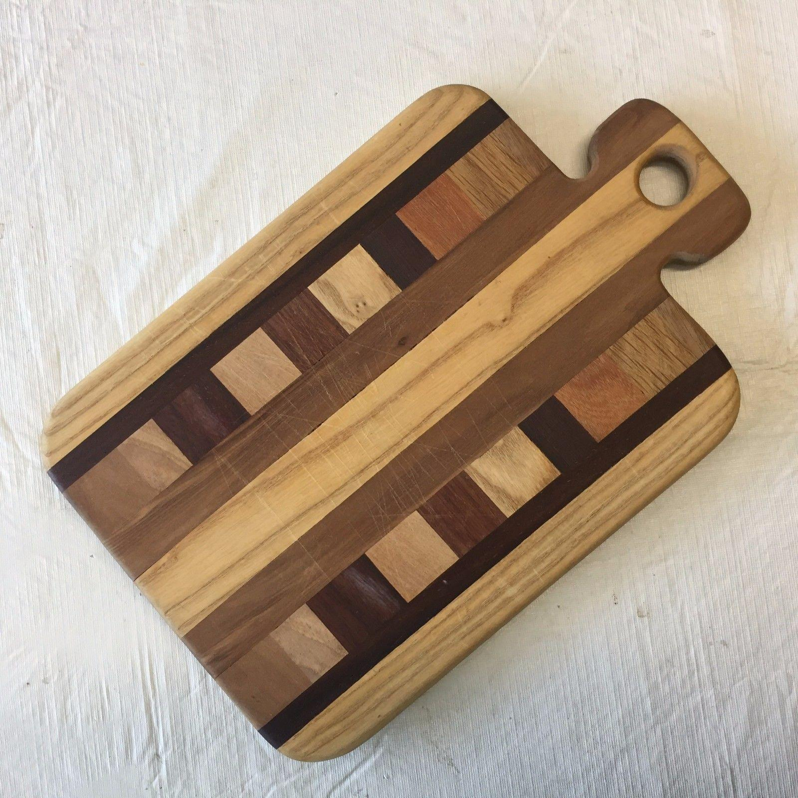 Nice Preowned Solid Wood Cutting Board Similar Items