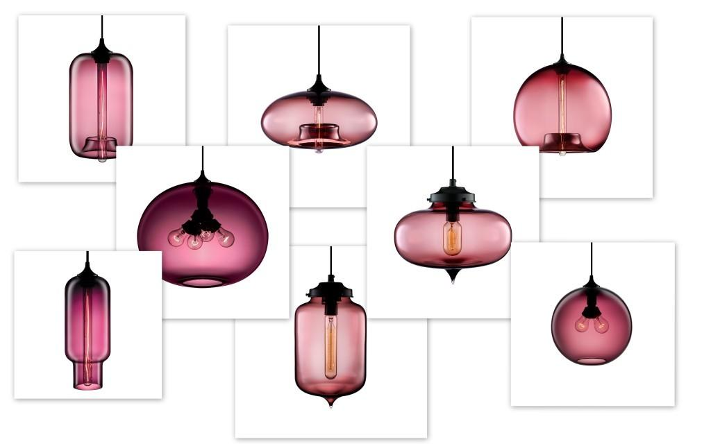 Niche Modern Blown Glass Lamps