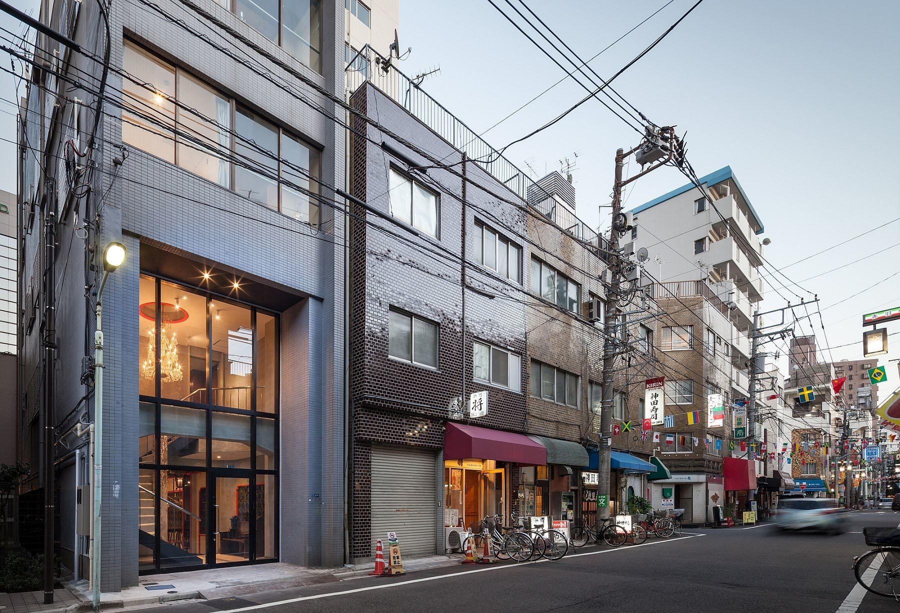 Nifty Conversion Alters Old Beauty Salon Tokyo Into