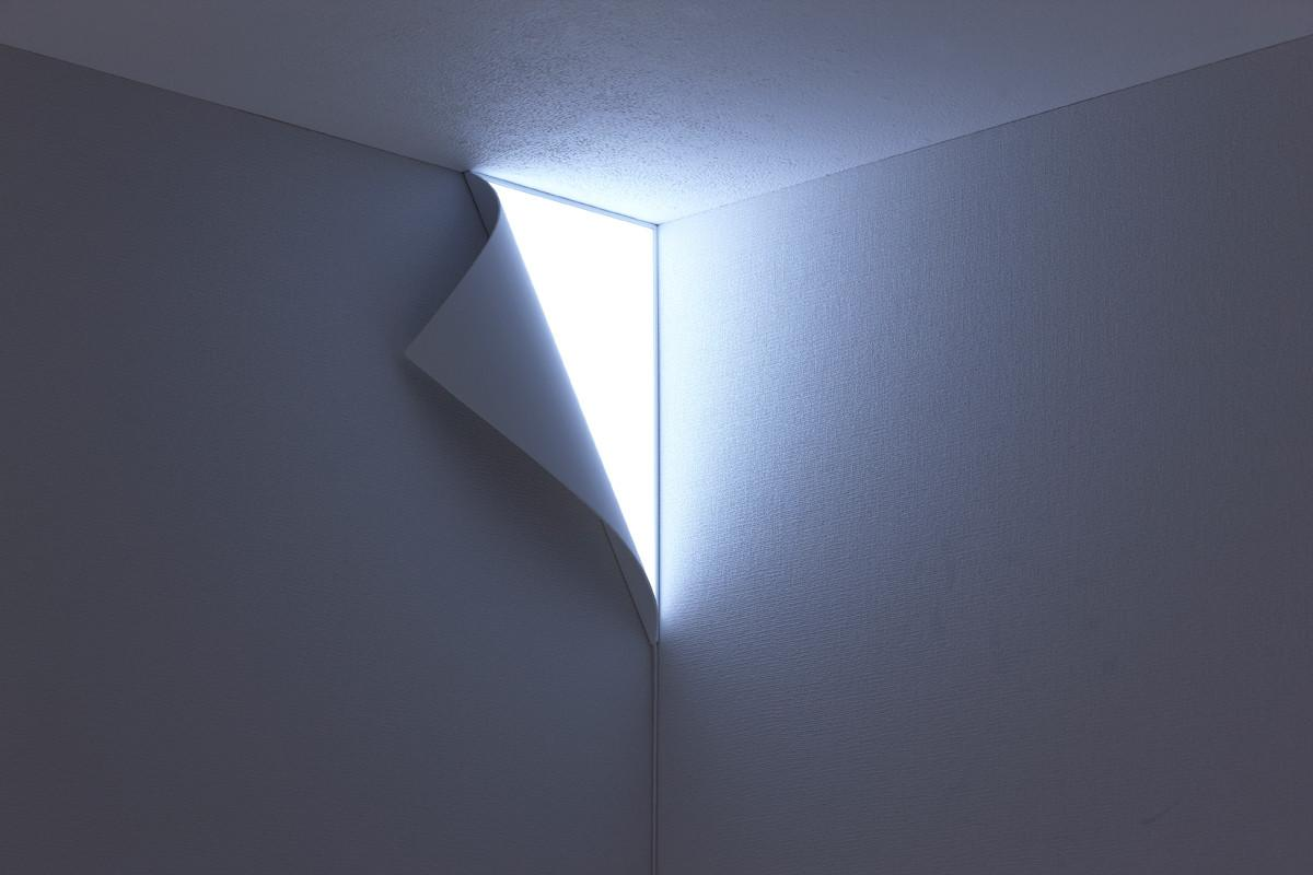 Night Light Turns Your Wall Into Entrance