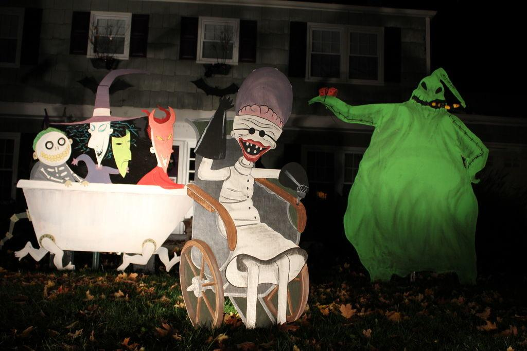 Nightmare Before Christmas Decorations Sale Photograph