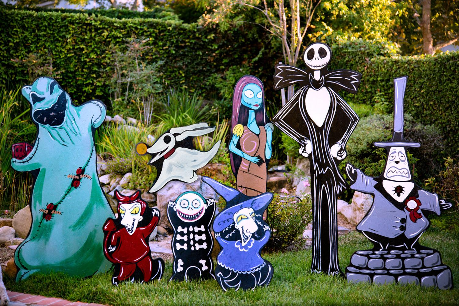 Nightmare Before Christmas Lawn Decorations