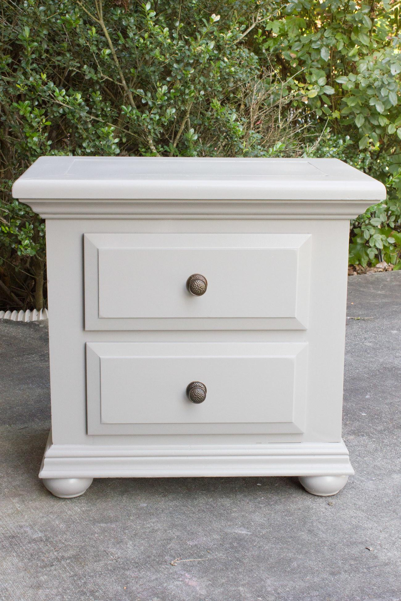 Nightstand Makeover Using Finish Max Super Large