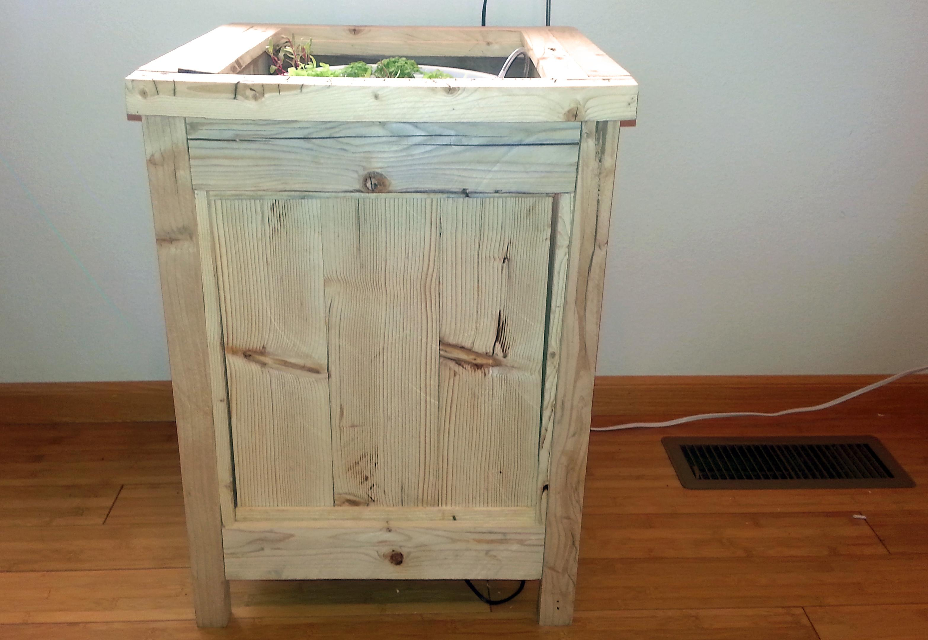 Nightstand Plant Stand Pallets