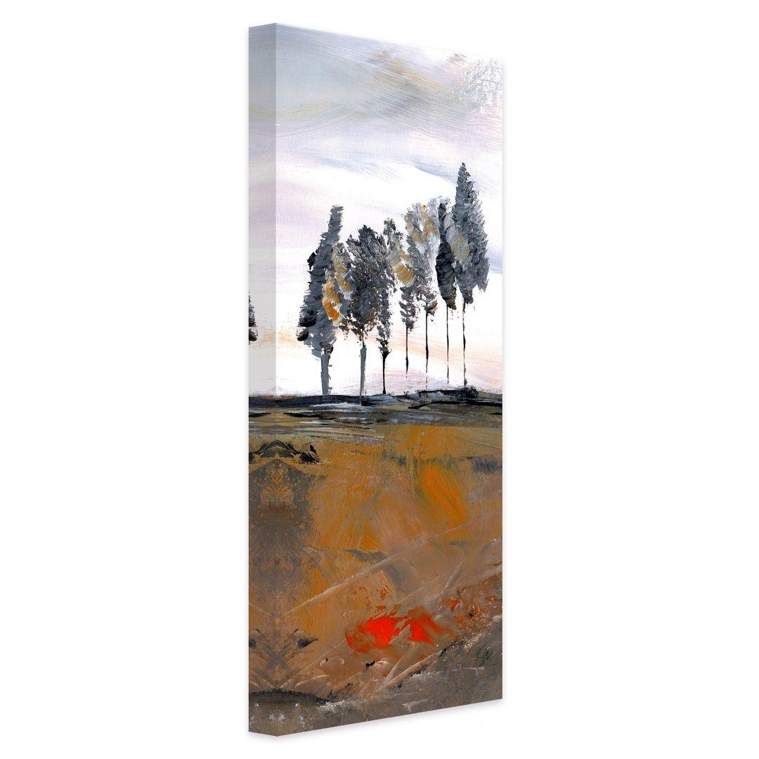 Niksic Trees Canvas Print Panorama Wall Art