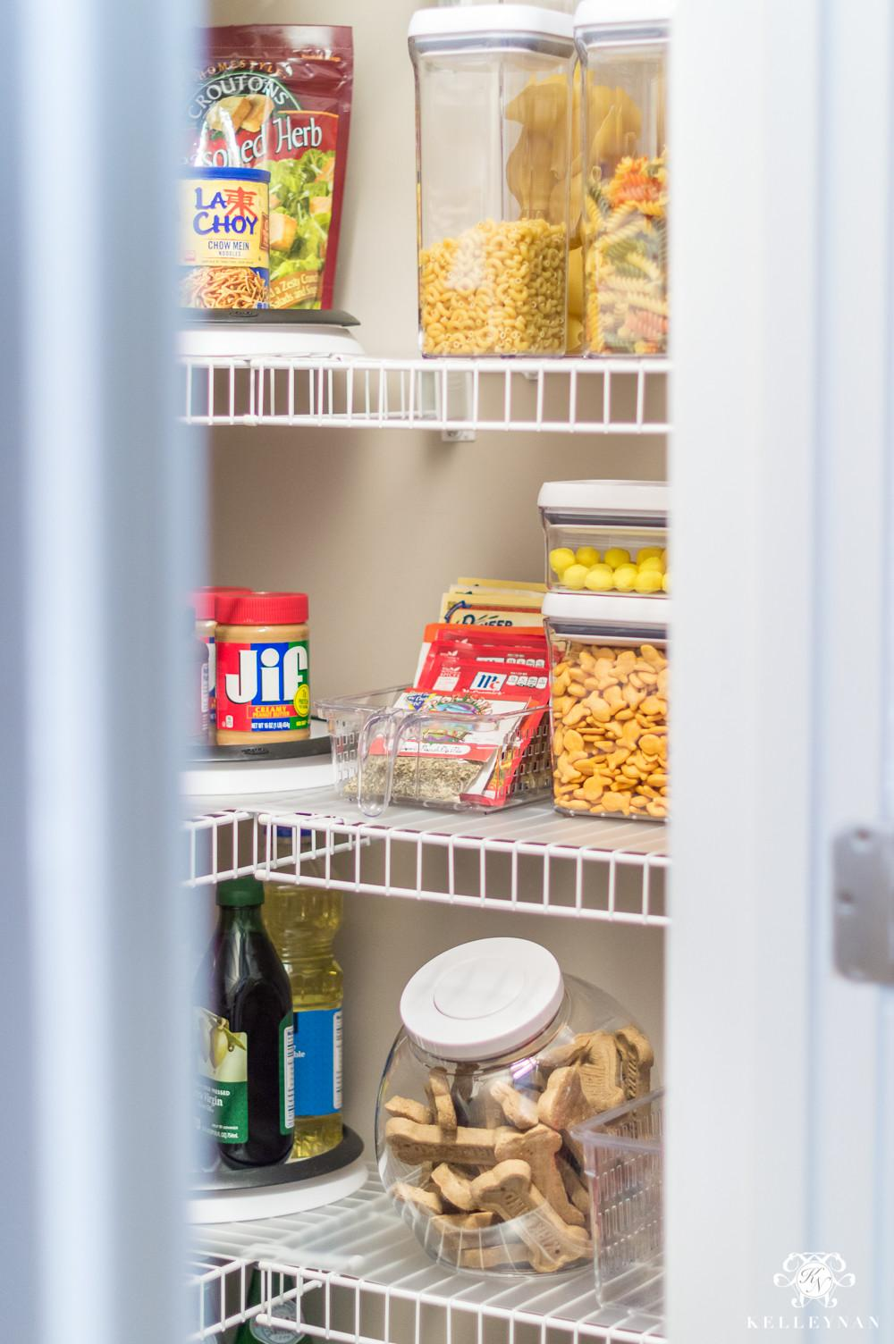 Nine Ideas Organize Small Pantry Wire Shelving