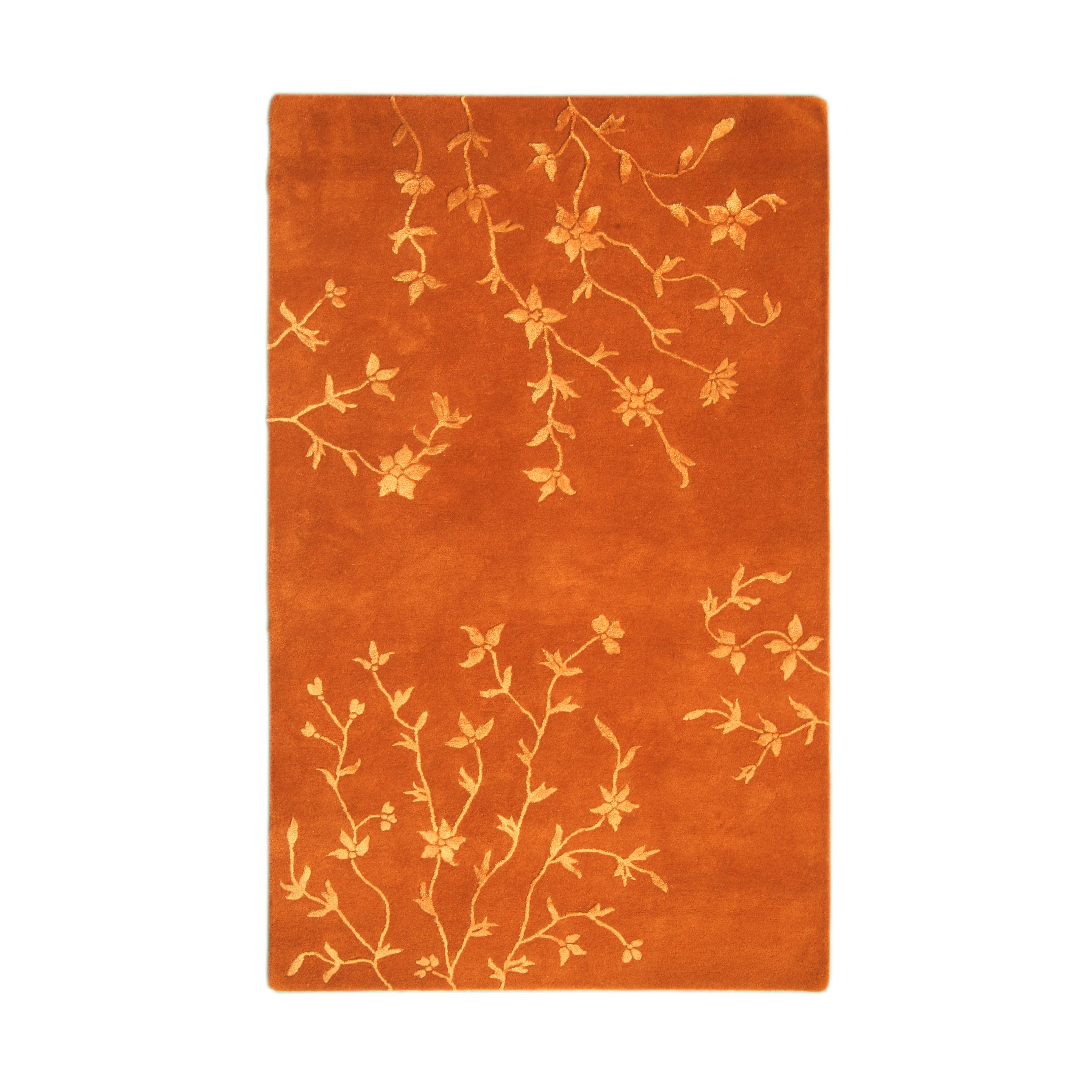 Noble House Florence Rust Area Rug