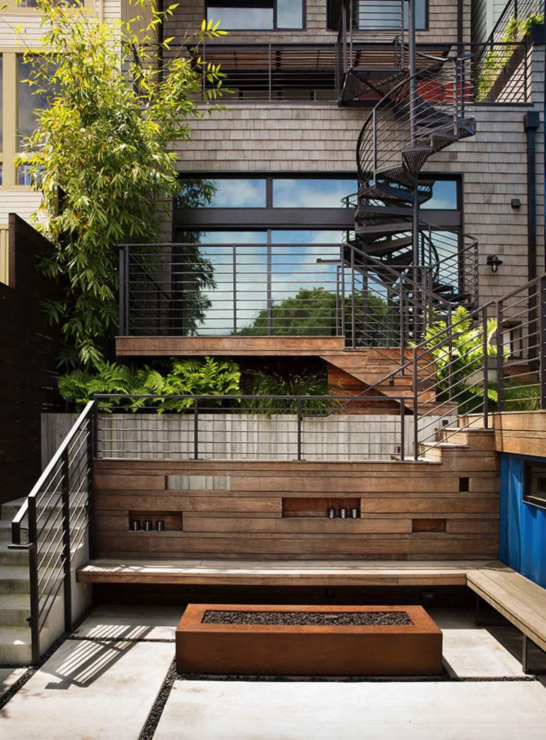 Noe Valley Townhouse Remodel Features Leed Platinum