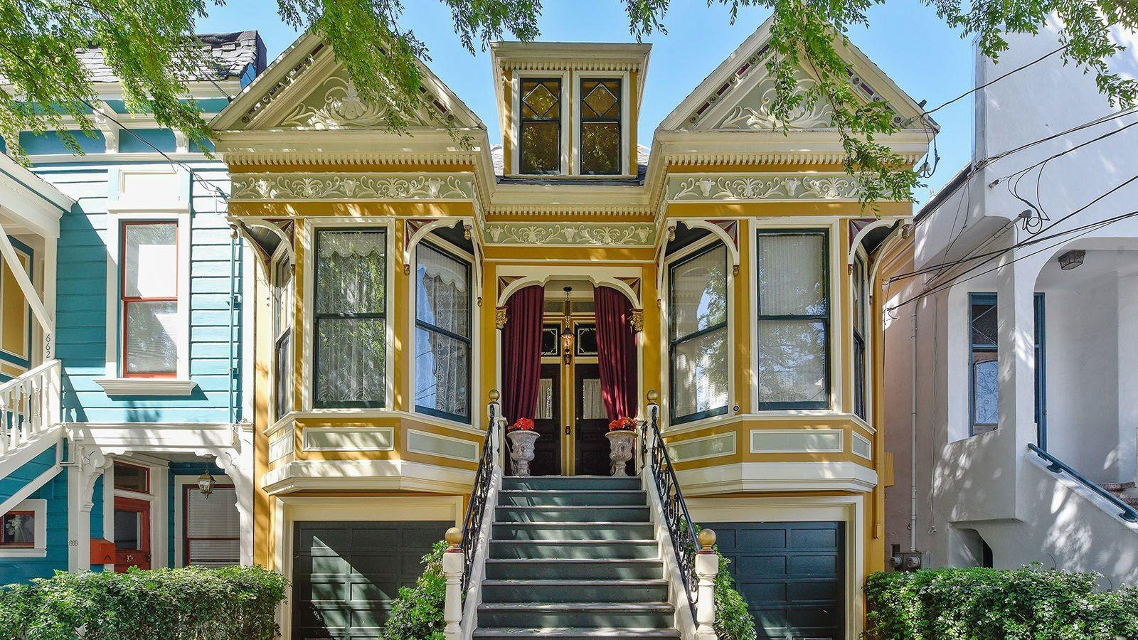 Noe Valley Victorian Sisters Sold Curbed