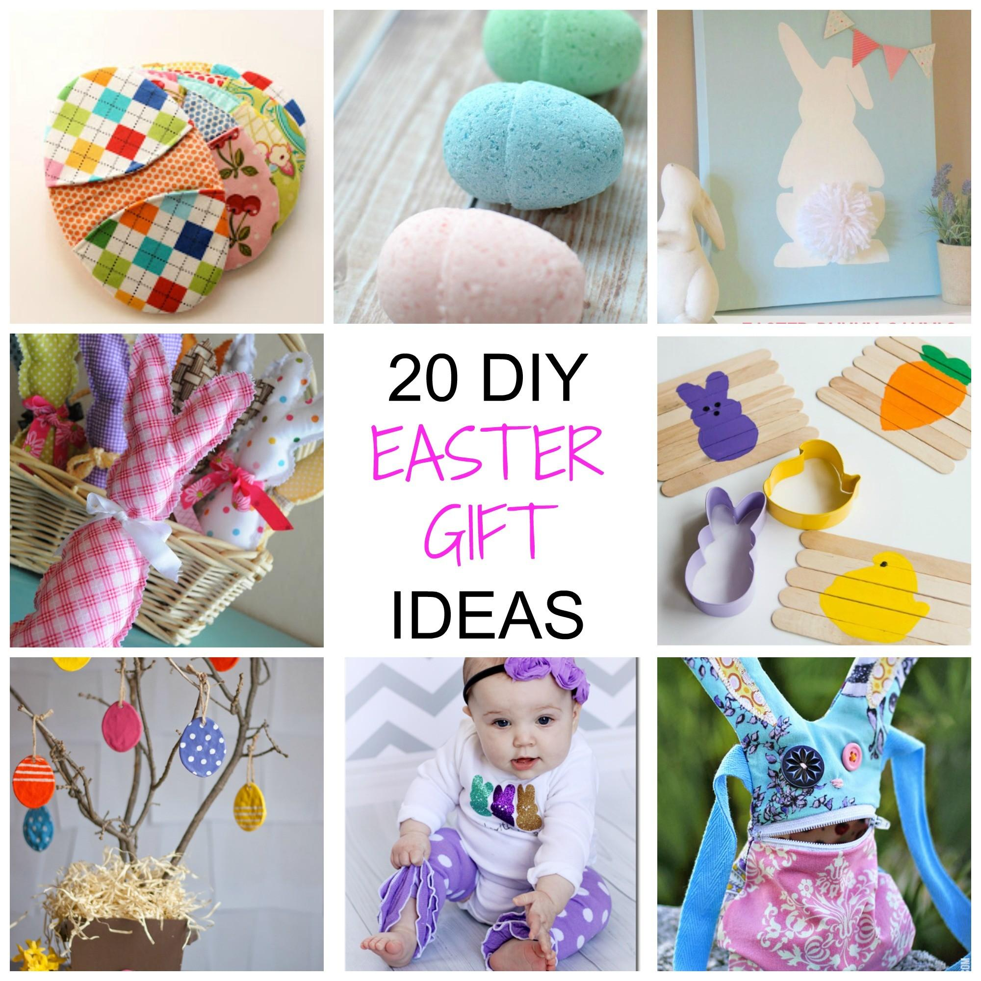 Non Chocolate Diy Easter Gifts Simplify Create Inspire
