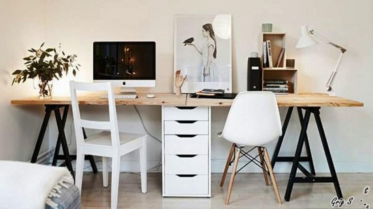 Nordic Style Workspace Design Ideas Scandinavian
