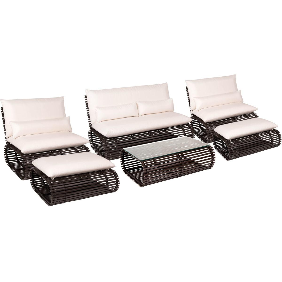 Novel Piece Contemporary Patio Furniture Set Stori Modern