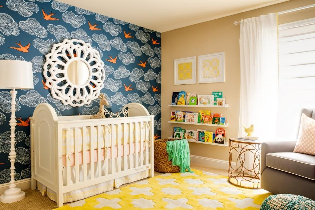 Nursery Accent Wall Using