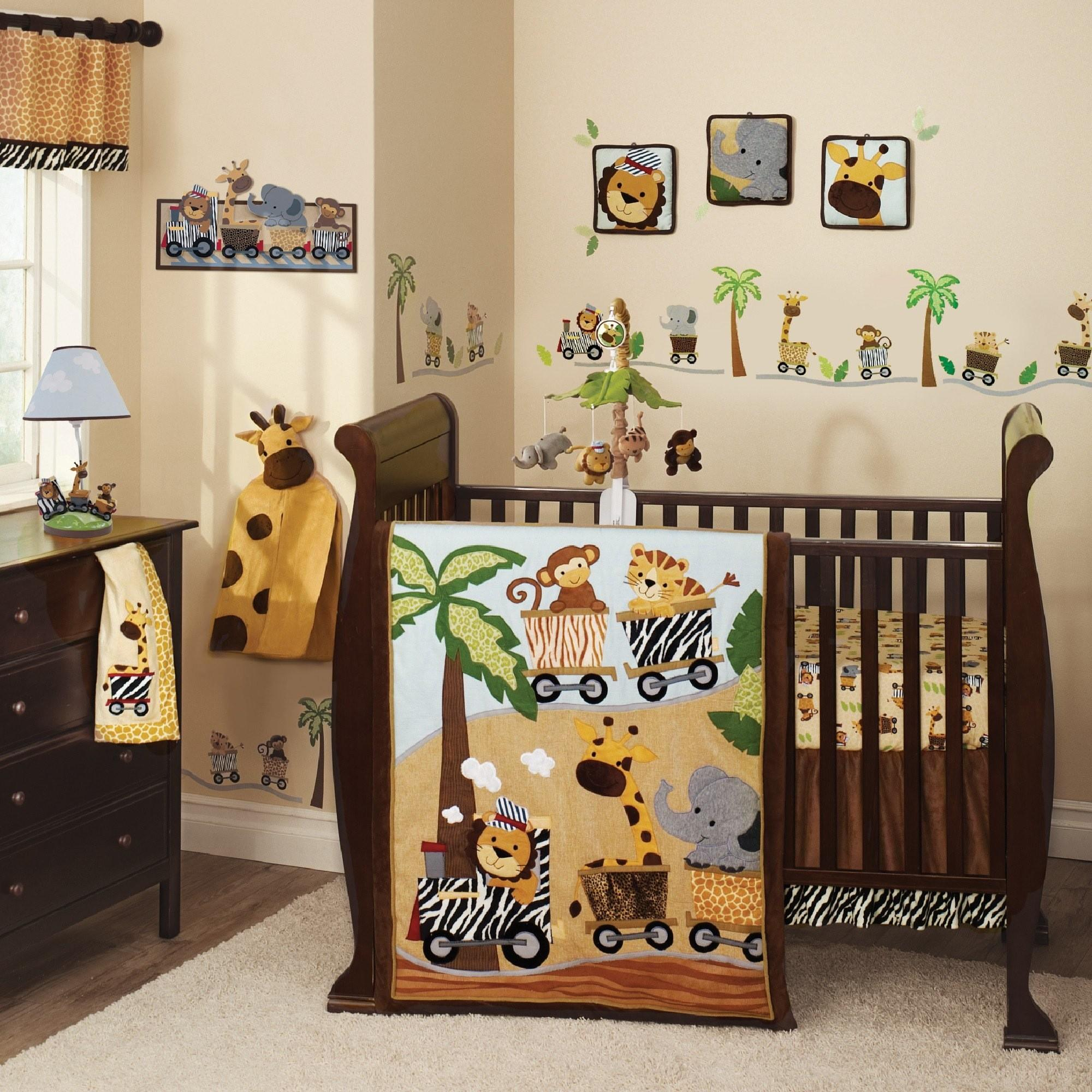 Nursery Wall Decals Kids Room Stickers Brightly Colored