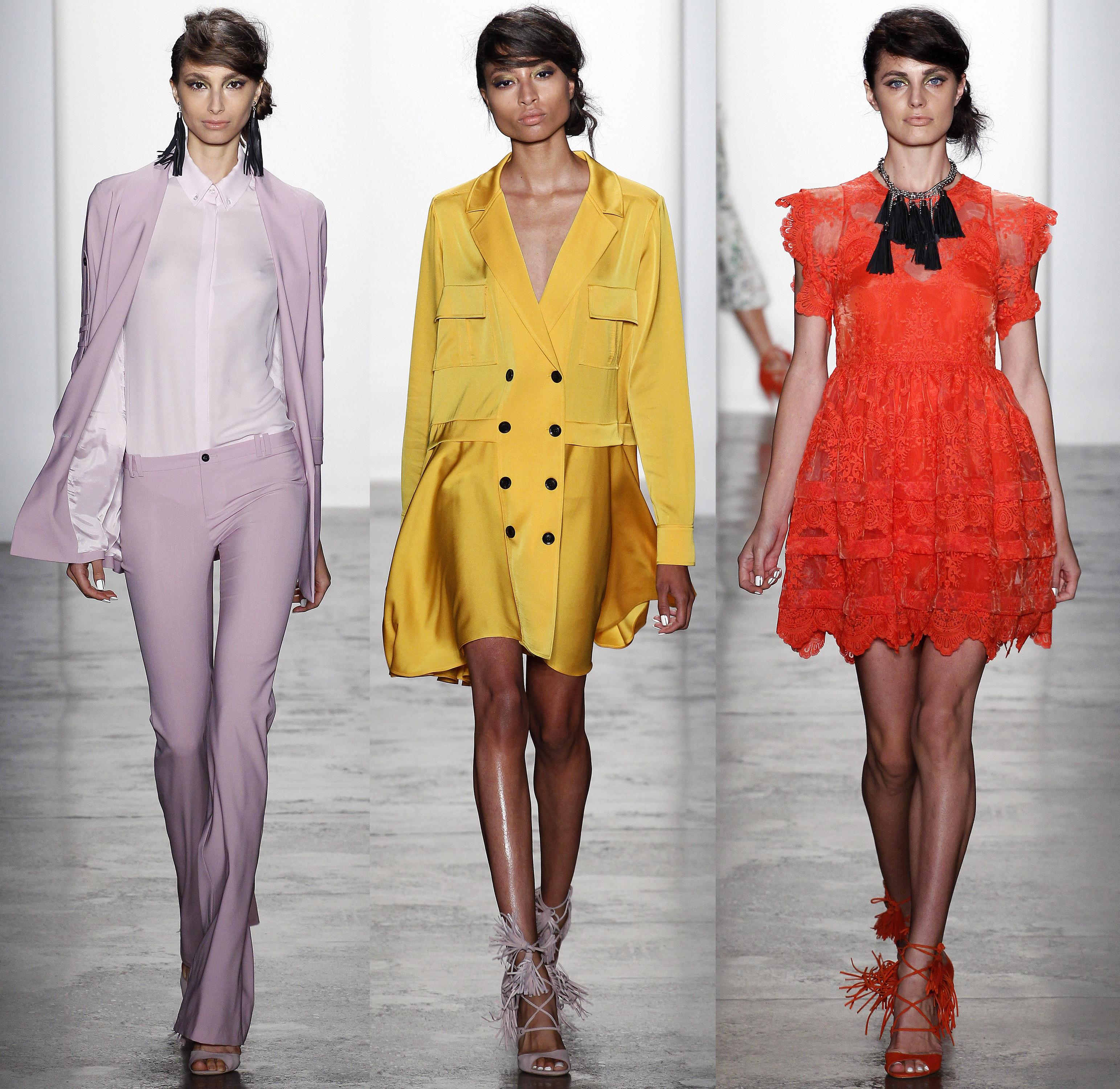 Nyfw Spring 2016 Best Collections Key Looks