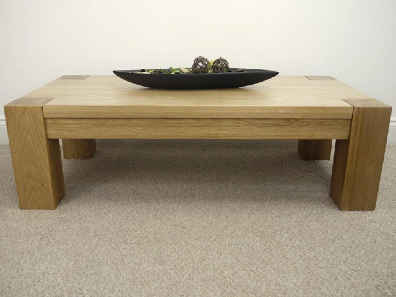 Oak Coffee Tables Trend Large Table City