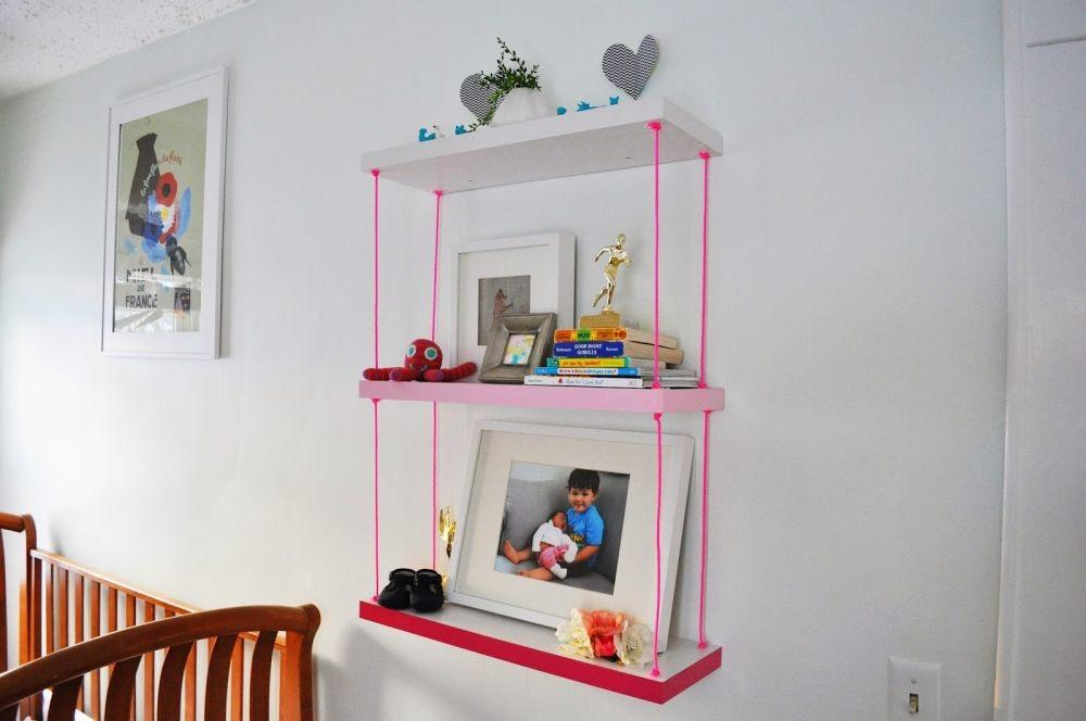 Obsessed Hanging Shelves Simple Diy Ideas Love