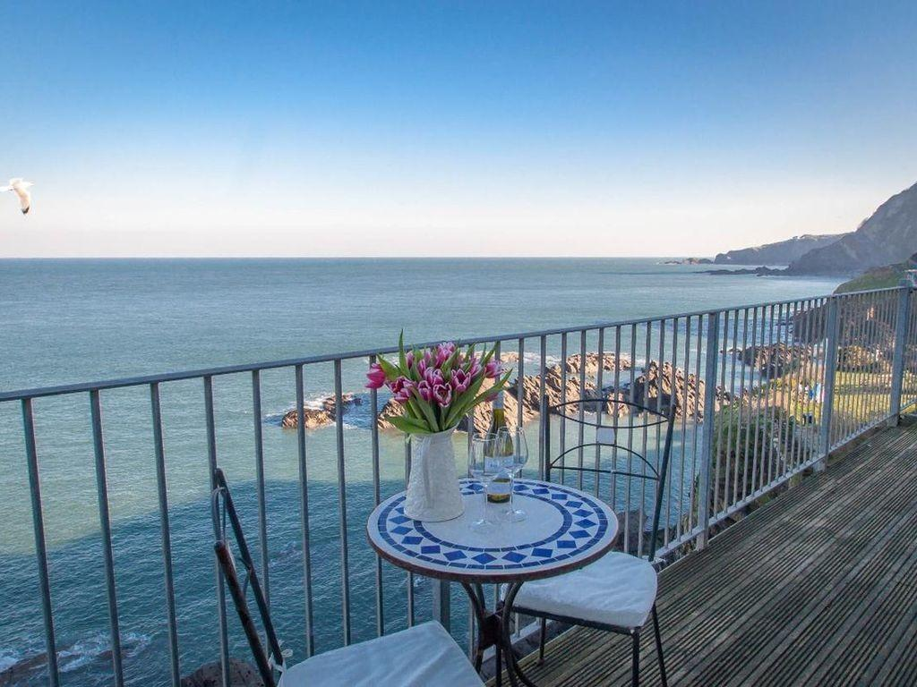 Oceanside Penthouse Family Friendly Homeaway Ilfracombe