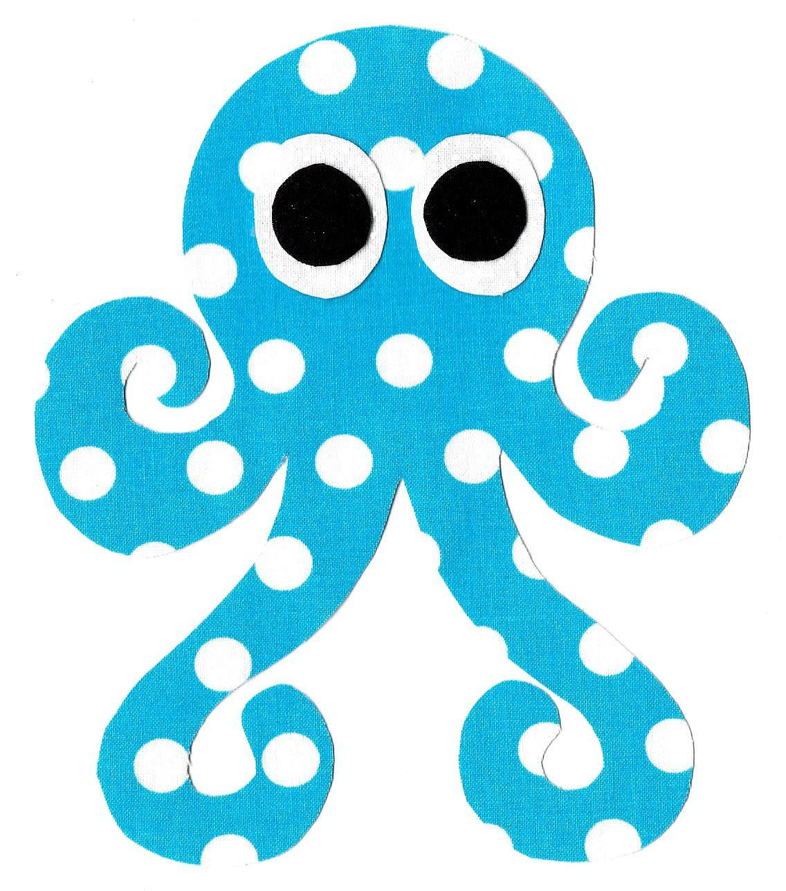 Octopus Iron Applique Diy