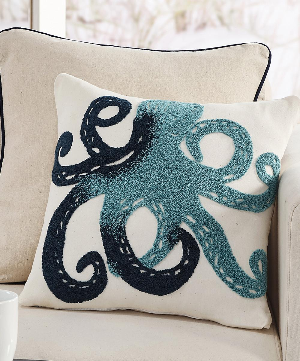 Octopus Throw Pillow Zulily