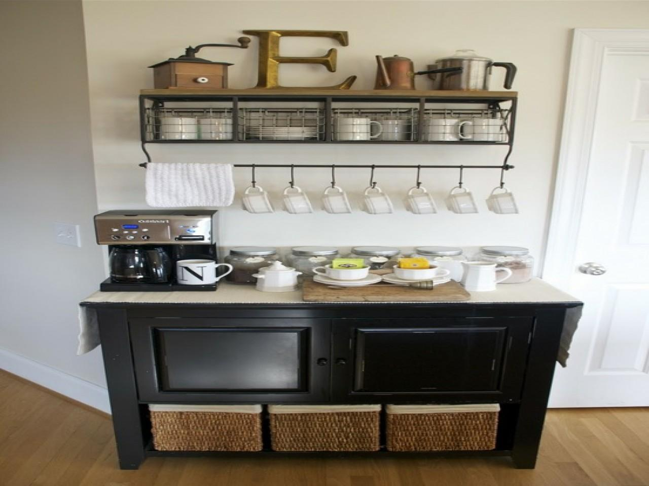 Office Coffee Cabinets Station Ideas Bar