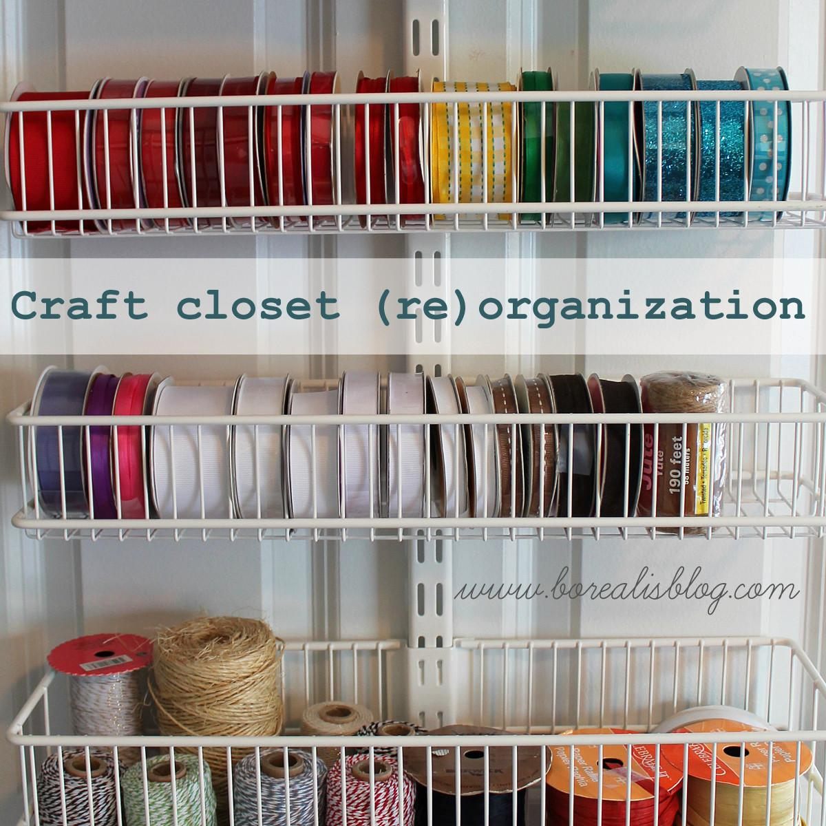 Office Craft Closet Organization Borealis