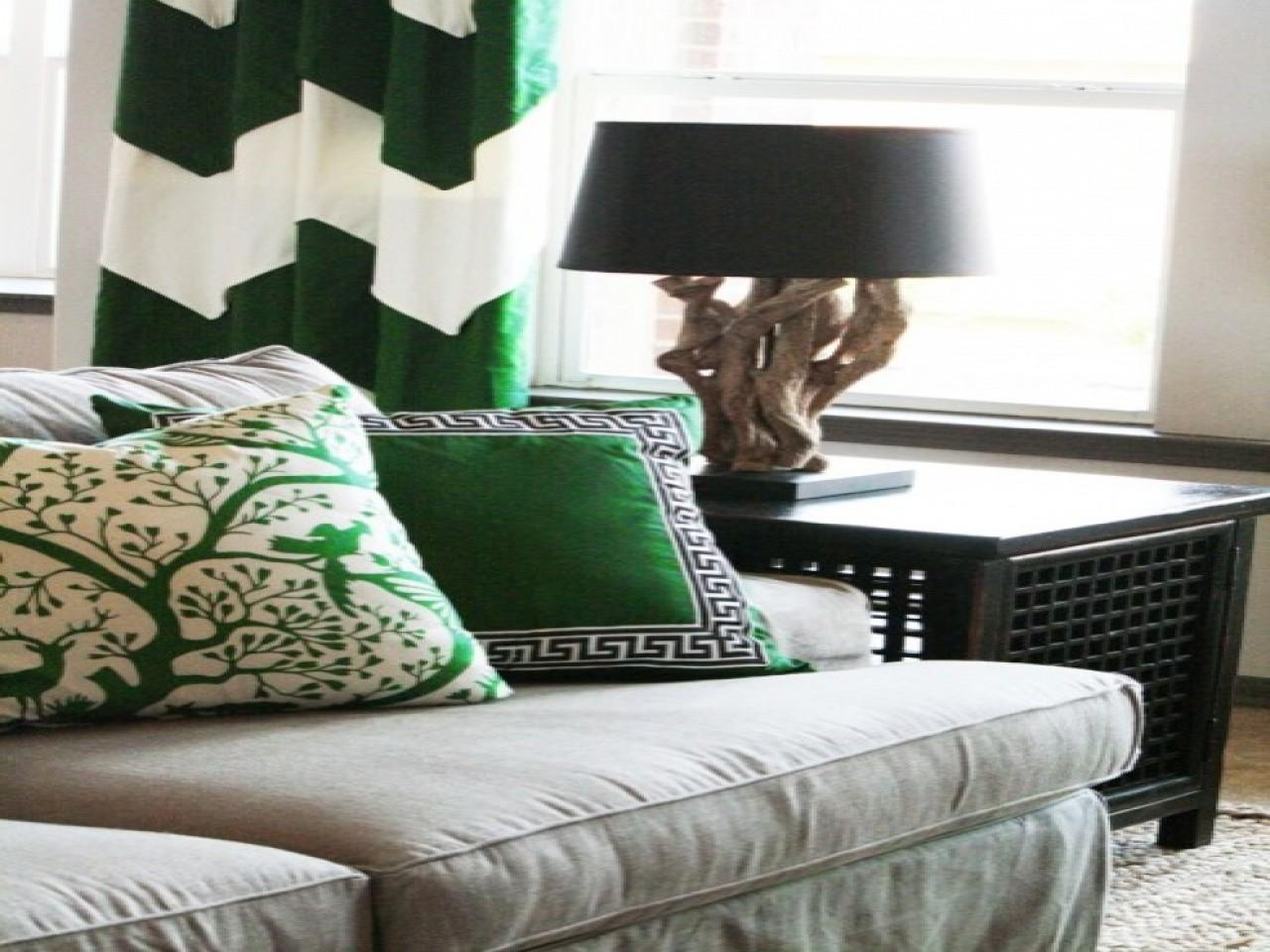 Office Drapes Emerald Green Home Decor