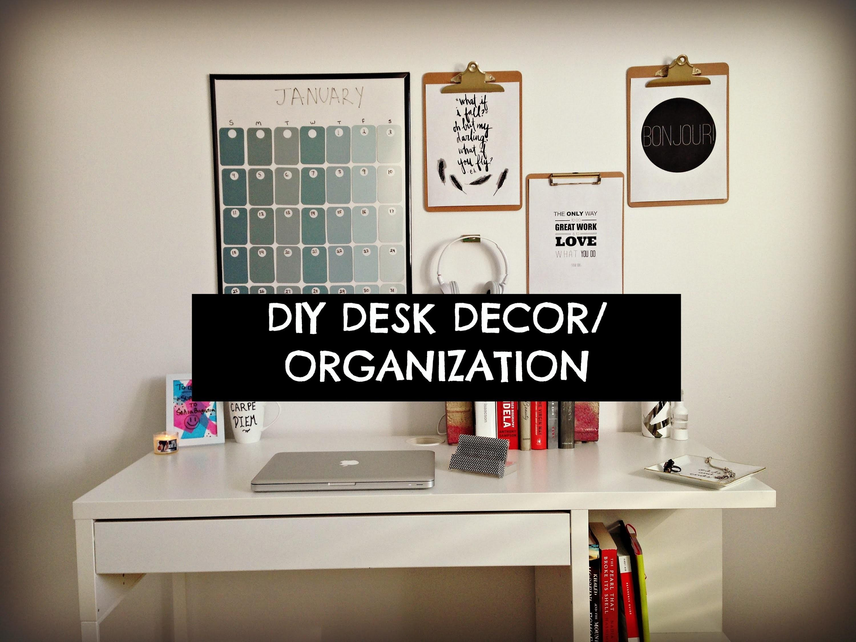 Office Organization Tips Idea Room Diy Decorated
